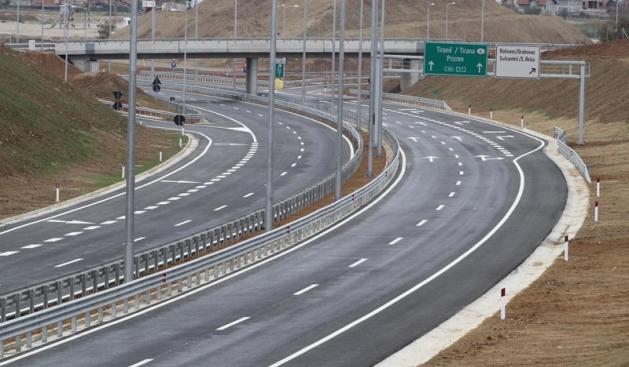 autostrada kosove shqiperi